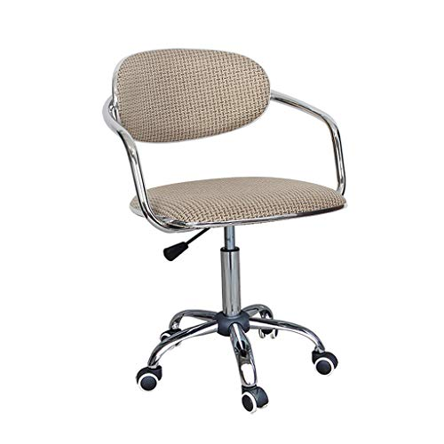 Comif-bureaustoel/Stafstoel/Barkruk, Ergonomisch ontwerp, Hef- en roterende functie, Rotan/jute, roestvrij stalen frame, hoge belastbaarheid (meerkleurig optioneel)