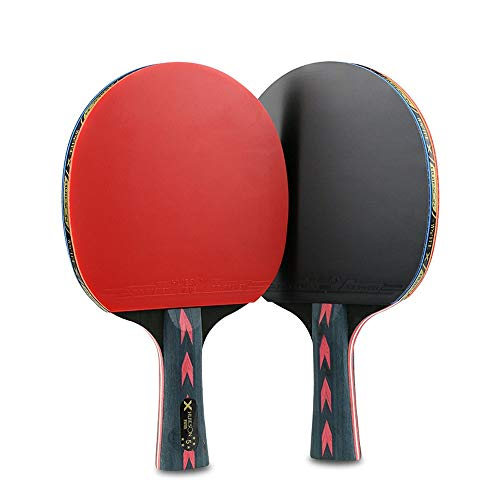 Why Choose HEXL Table Tennis Paddle, Table Tennis Set, 2 Table Tennis Bats and 3 Table Tennis Balls,...