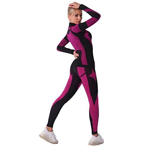 XBTECH Sportswear-Strumpfhosen & Leggings für Damen,Damen Hohe Taille Yogahosen Geraffte Gym Leggings Strumpfhosen Bauch Kontrolle Po Lifting
