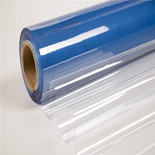 TENDEEVOLUTION Telo in PVC Trasparente, Cristal Impermeabile al Mezzo Metro (0,8 mm)
