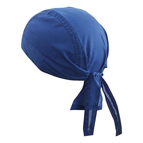Myrtle Beach Kopftuch für Herren, blau - blue - royal - Größe: Taglia unica