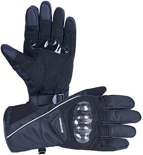 CHANGE MOORE Winter Motorcycle Gloves for Men Women Touchscreen 3M Thinsulate Waterproof Winter product image
