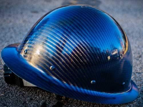 100% Real Carbon Fiber Hard Hat  ANSI/ISEA Certified 5 Colors blackblue