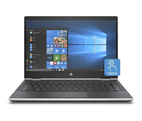 HP Pavilion X360 14-Inch Convertible Touchscreen Laptop, 8th Gen Intel Core I5-8265U, 8 GB RAM, 512 GB Solid-State Drive, Windows 10 Home (14-cd1020nr, Natural Silver)