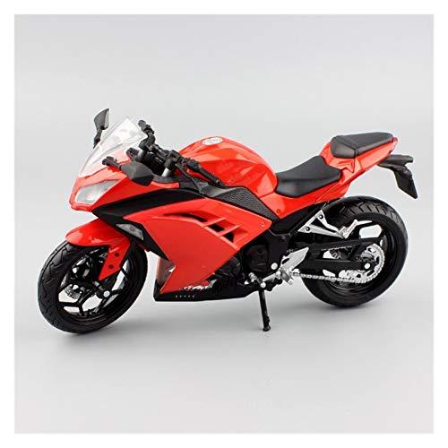 Juguete Modelo de Motocicleta a Escala 1:12 per Kawasaki Ratio Pressofusione In Lega Modello Di Moto Da Corsa per Bambini Decorazione Da Collezione Regalo per Auto Giocattolo per Adulti