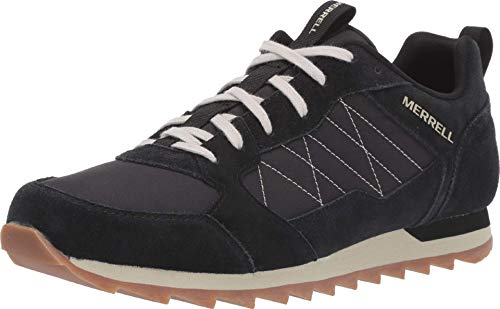 Merrell Herren Alpine Sneaker, Schwarz (Black Black), 41 EU