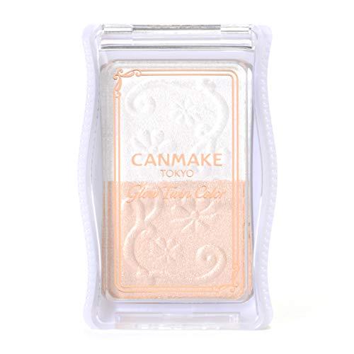 IDA Laboratories CANMAKE | Powder Eye Shadow | Glow Twin Color 01 White Beige (japan import)