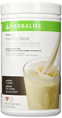 Herbalife F1 Cookies and Cream Shake Mix, 26.4 ounces