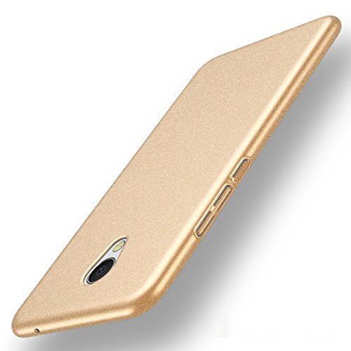 Futypei Meizu MX6 Hülle Weiche Silikon Bumper Cover Glitzern Handyhülle Kratzfest Stoßfest Schutzhülle Case Glitter Bling Handytasche Slim Etui Silikon Case Golden