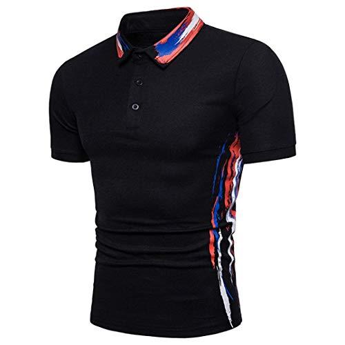 Mannen poloshirt zomer revers mode oversize bedrukt modern korte mouwen polohemd nonchalant Daily casual T-shirt shirts tops