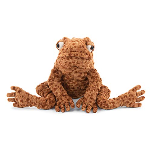 Jellycat Toby Toad Stuffed Animal, 13 inches