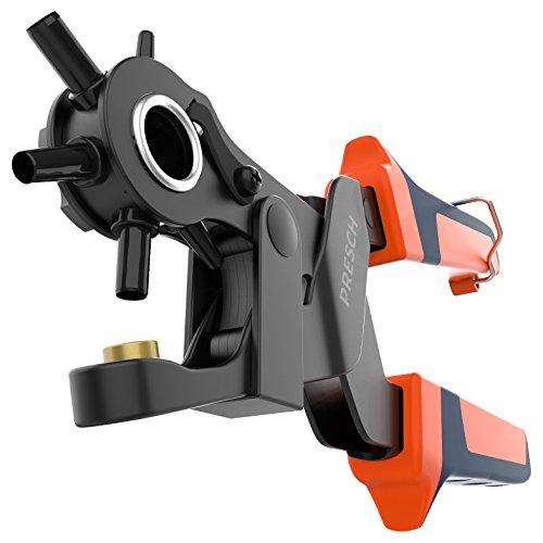 Presch punch tang voor leer - Riem punch tang met hefboomwerking voor het ponsen van gaten in riemen, stof, leer, karton - Professionele revolver punch tang