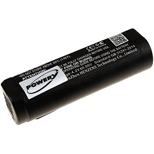 Powery Batería para Sistema inalámbrico Digital de micrófono Shure GLXD1