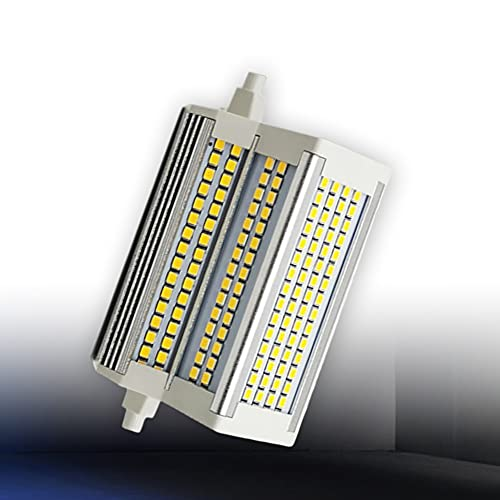 Bombilla LED R7s 118mm Regulable Blanco cálido 3000K Doble Extremo 50W J118 Reflector 500W Reemplazo de lámpara halógena para...