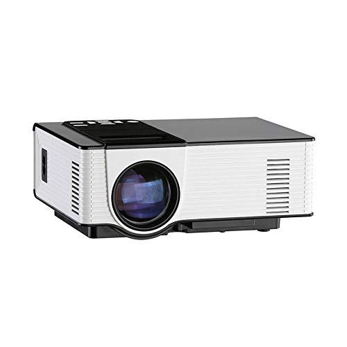 Mini Proyector Portátil Proyector Full HD Mini LED Proyector 2000 Lúmenes 800 * 480 Cine En Casa Portátil Proyector De Cine En Casa