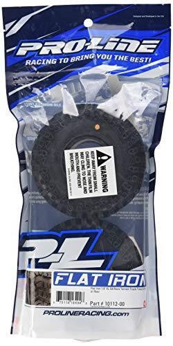 ProLine 1011200 Flat Iron 1.9 XL G8 Rock Terrain Truck Reifen mit Memory Foam Einlagen (2 Stück)