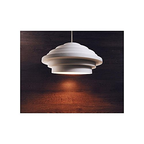Lampe suspension Esmeralda - 220-240 V CA / 50-60 Hz - E27 - 40 W - Classe d'efficacité énergétique : A++