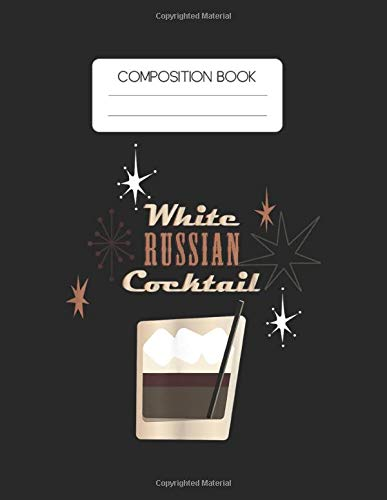Composition Book: The Ginfather Gin Father  Funny Gin And Tonic Blank Composition Book with Large Size for Student and Teacher Drinking Cooktails with ... Blank Paper Gift for Friendship Funny