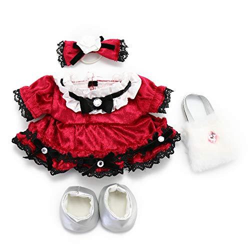 マザーガーデン Mother garden うさももドール プチ 着せ替え服《ベロアコーデセット》Sサイズ用 お人形遊び きせかえ ドール 着せ替え服