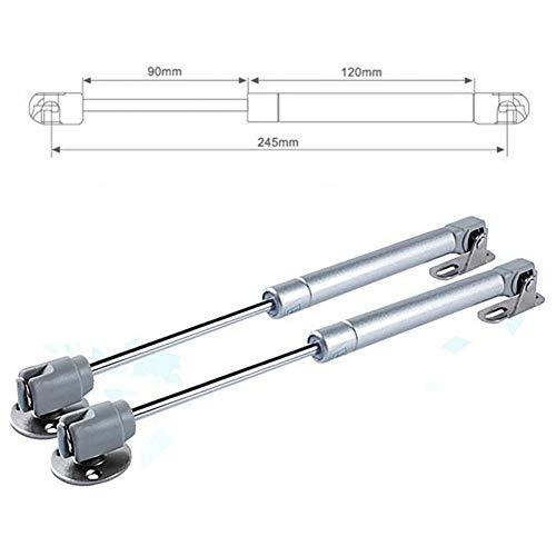 40N-150N / 4-15KG hydraulisches Scharnier Türheber pneumatische Gasfeder for Holzgehäuse/Möbel/Schranktür (Color : 1PC 120N)