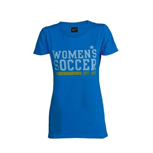 Ballzauber Damen T-Shirt 3, brillant blau, XS, 1003-28