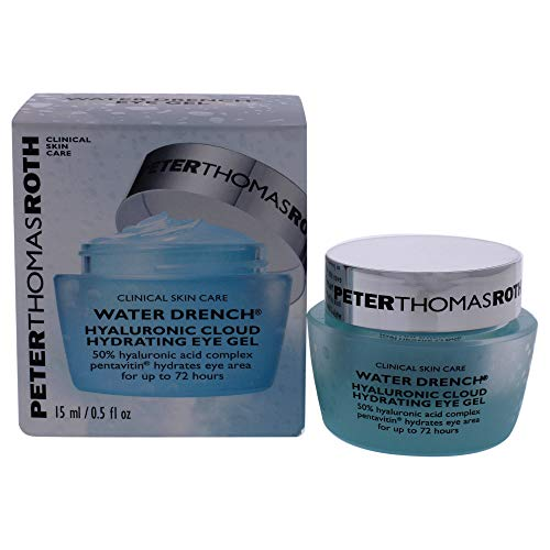 Water Drench Hyaluronic Cloud Hydrating Eye Gel, Hyaluronic Acid Eye Gel With Caffeine, for Fine Lines, Wrinkles, Under-Eye Puffiness and Dark Circles