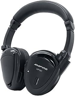 AMPIRE HP301 2 Kanal Infrarot Kopfhörer, (faltbar, hochwertig verarbeitet, inkl. gefütterter Tasche)   perfekte Ergänzung zu unseren Kopfstützen, Deckenmonitoren & Rear Seat Entertainment