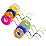 Curling Ribbon Set, 9 Colors 270 Yard Balloon Ribbons Double Face Curling Roll for Gift Wrapping Crafts Wedding Birthday DIY Hair Accessories