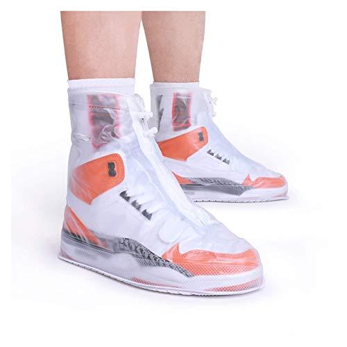 shoe Cubiertas de Zapatos a Prueba de Lluvias para Hombres y Mujeres, Botas de Lluvia al Aire Libre a Prueba de Lluvias, fáciles de Llevar, Cubiertas de Zapatos Impermeables