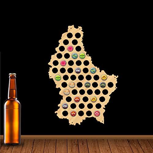 Tarjeta de cerveza Luxemburgo 109 colores – un regalo para hombres Una idea de regalo divertida para amigos de la cerveza y regalos para amigos de la cerveza.