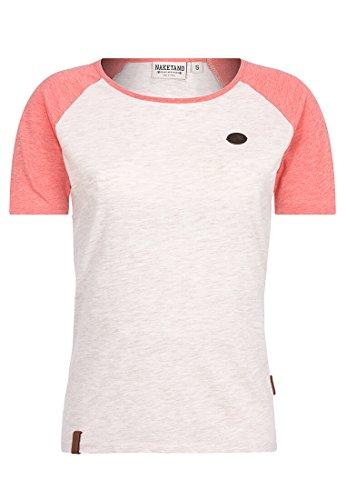 Naketano Damen T-Shirt Gebumst Wie Gebämst T-Shirt