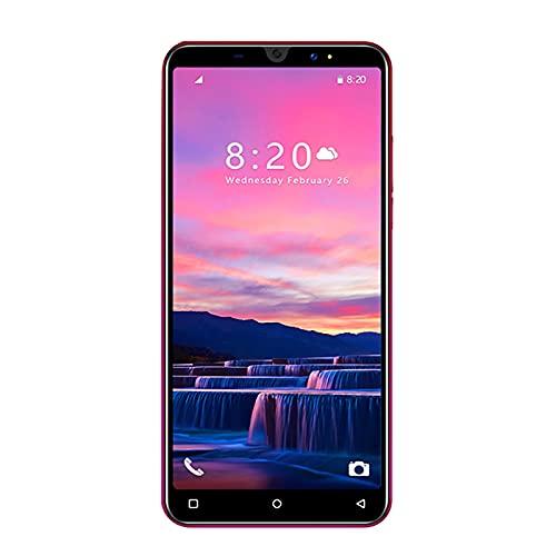 Sonline 5 Pollici P40Mini Cellulare Schermo HD 512 MB di RAM + 4 GB Dual SIM Smart Phone Dual-Core Cellulare Rosso Spina UE