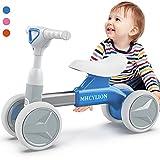 LOGEEYAR Bicicleta Infantil de Equilibrio para niños a Partir de 1 año, para niños y niñas, con 4 Ruedas, Regalo...