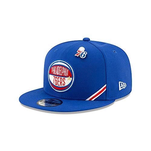 New Era NBA PHILADELPHIA 76ERS Authentic 2019 Draft 9FIFTY Snapback Cap