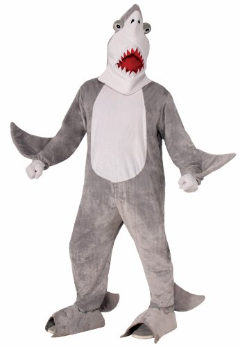Forum Novelties Men's Chomper The Shark Plush Mascot Costume