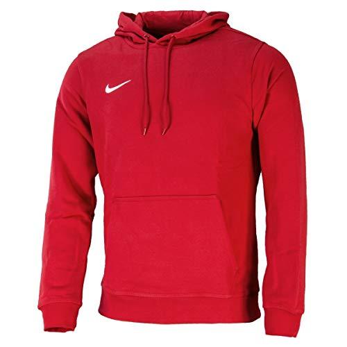 Nike Team Club Hoody - Sudadera para hombre, Rojo/Blanco (University red/White), XL