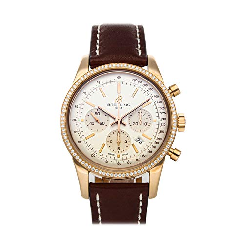 Breitling Transocean Mechanical (Automatic) Silver Dial Watch RB015253/G738 (Pre-Owned)