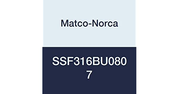2 x 1-1//2 Matco-Norca SSF316BU0807 316SS Threaded Bushing Class 150