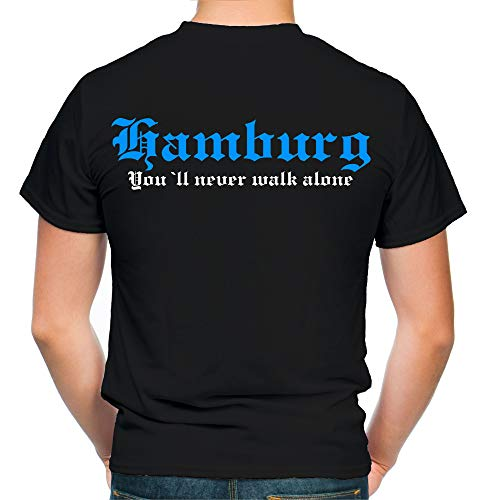 Hamburg Kranz T-Shirt | Trikot | Fussball | Bekleidung | Herren | Fan | M2 (XL)