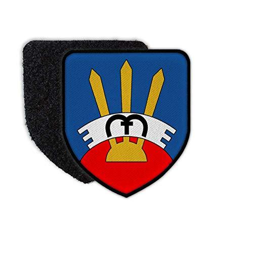 Copytec Patch Flugabwehrregiment 300 Kompanie Reservist Marburg Tannenbergkaserne #30039