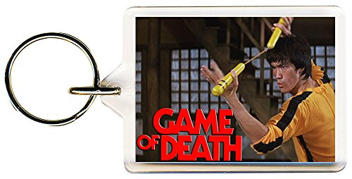 S8keMedia Game Of Death #2 Keyring 50mm x 35mm