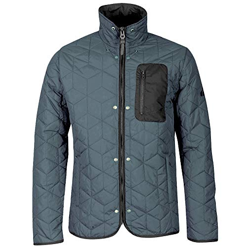 Boxfresh Bristol2 Gesteppte Winterjacke Übergangsjacke Jacke Jacket M Azul