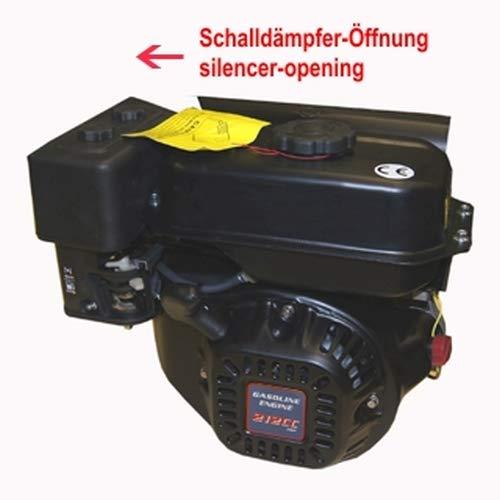 ATIKA Ersatzteil | Benzinmotor Loncin LC170F 4,5 kW - 212 ccm für Gartenhäcksler GHB 760