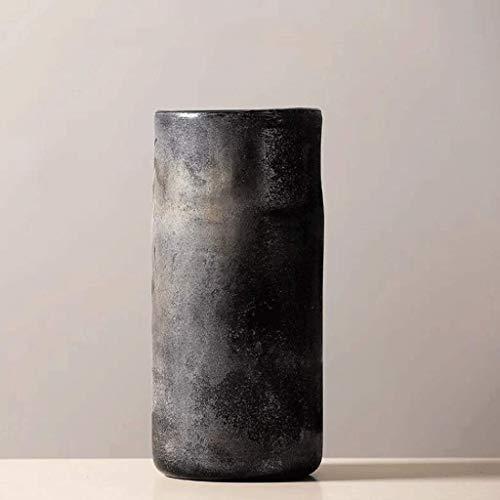 Florero de cerámica, jarrón de cerámica para el hogar de