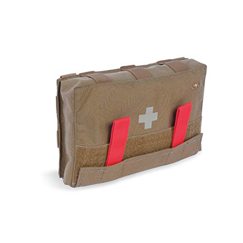 Tasmanian Tiger IFAK Pouch, Tactical MOLLE Medical Pouch, First Aid Bag, Rip Away Panel, Large, Coyote