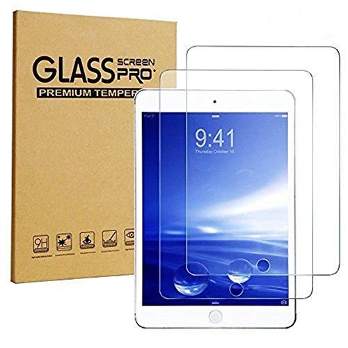 iPad Mini Screen Protector, [2-Pack] Sincase 2.5D Curved Edge HD Premium iPad mini 2/3 Tempered Glass Screen Protector Crystal Clear 9H 0.26mm Anti-Scratch Shatterproof Bubble-free Screen Film