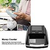 Mini-geldzähler-maschine - Intelligent Tragbarer Banknotendetektor Geldscheinzähler für Gemischte Stückelungen Geldzählmaschine mit LED-anzeige & Fälschungserkennung für Kleine Unternehmen(EU) - 2