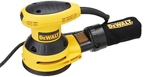 DEWALT D26451 3-Amp 5-Inch Random-Orbit Sander with Cloth Dust Bag
