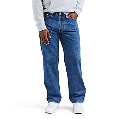 Levi's Men's Big and Tall 550 Relaxed Fit Jean, Medium Stonewash, 52W x 32L by Levi's