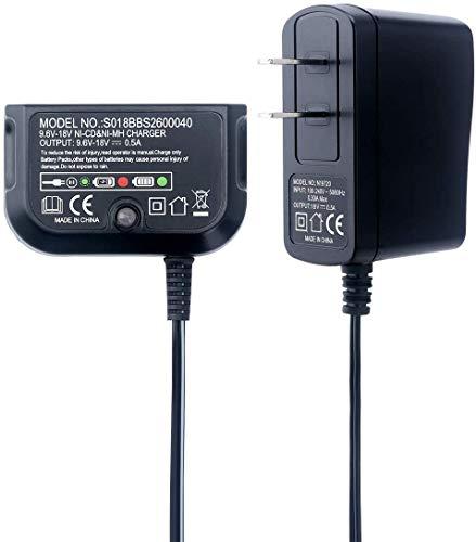 Replace of Black and Decker 18V Battery Charger 90556254-01 9.6V-18V NiCad & NiMh Battery HPB12 FS12B HPB14 FSB14 HPB18 HPB18-OPE FSB18 HPB96 FSB96